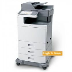 Lexmark Used MFP Printer X792de Δικτυακό Laser Έγχρωμο Πολυμηχάνημα ( με high toner)