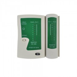 Cable Tester Δικτύων RJ11,12,45 Well TESTER-NW-03-WL