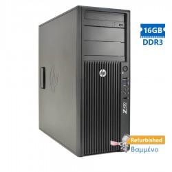 HP Z420 Tower Xeon E5-1620(4-Cores)/16GB DDR3/1TB/Nvidia 2GB/DVD-RW/7P Grade A+ Workstation Refurbis