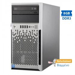 HP Proliant ML310e Gen8v2 Server Tower i3-4130/8GB DDR3/600GB SAS 3.5