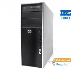 HP Z400 Tower Xeon W3503/16GB DDR3/1TB/Nvidia1GB/DVD/7P Grade A+ Workstation Refurbished PC