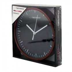 Ρολόι Τοίχου BUDAPEST WHITE EHC010W