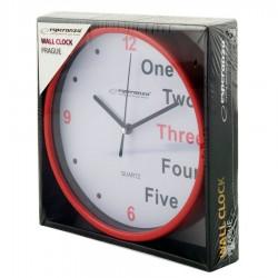 Ρολόι Τοίχου PRAGUE RED EHC014R