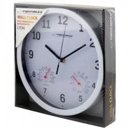Ρολόι Τοίχου LYON WHITE EHC016W