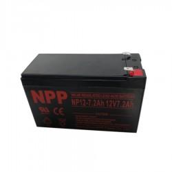 Μπαταρία Μολύβδου 12v 7.2AH Φαρδύ Πόλο NPP Power (UPS)