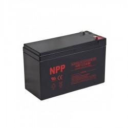 Μπαταρία Μολύβδου High Rate 12V 9AH φαρδύ πόλο NPP Power (UPS)