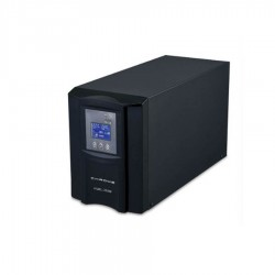 UPS για κυκλοφορητές 500VA/350W CHROME w/Display & AVR UPS-HEATST-PSWL350W-CHR