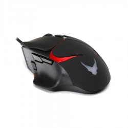 Varr Gaming Ποντίκι Ενσύρματο 3200Dpi Μαύρο-Κόκκινο VGM0360